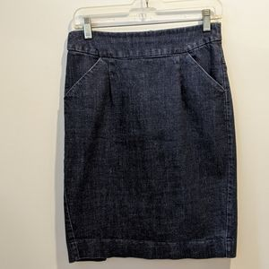 J Crew denim skirt size 2